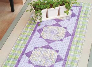 Trilho de mesa com patchwork 2