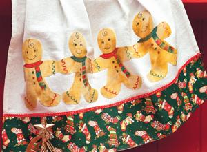 Pano de prato natalino