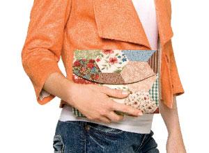 Clutch de patchwork
