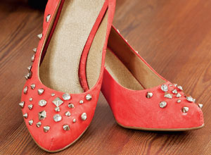 Sapato com spike