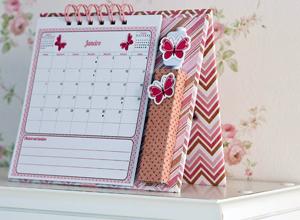 Calendário de mesa para 2014