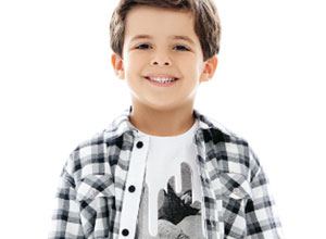 Camisa para meninos