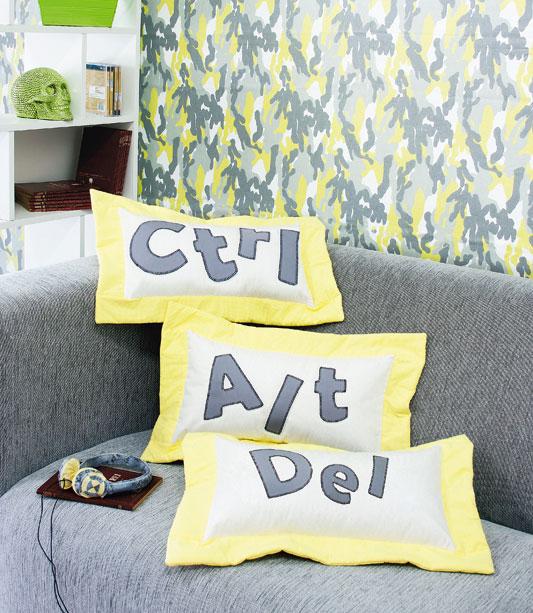 Almofada Ctrl+Alt+Del