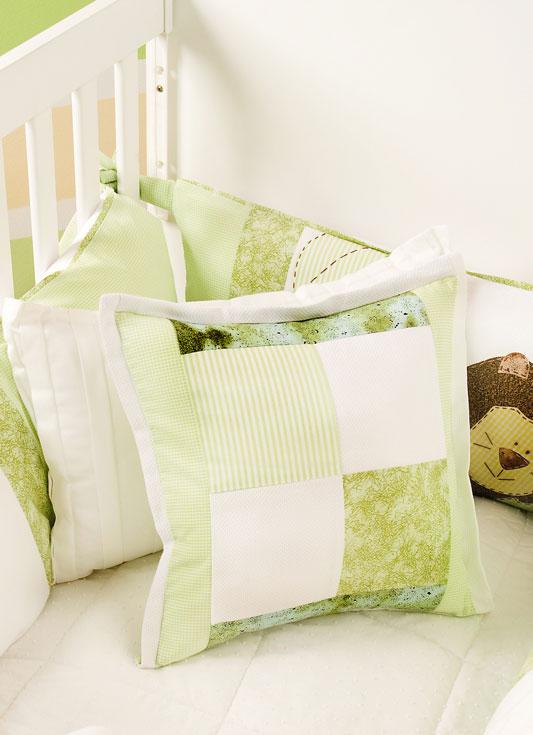 Almofada de patch para seu bebê