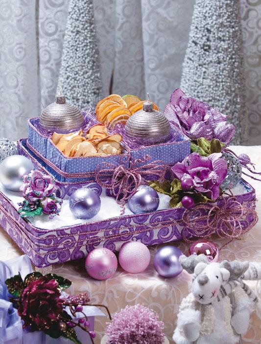 Arranjo de Mesa para o Natal