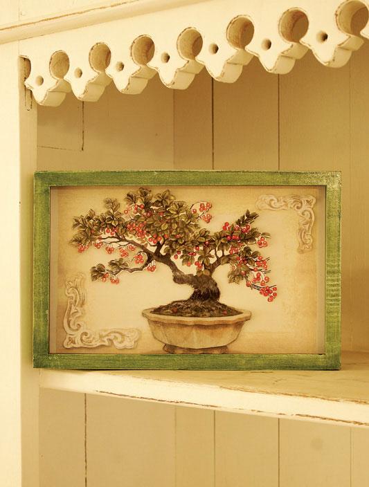 Quadro de cerejeira de arte holandesa