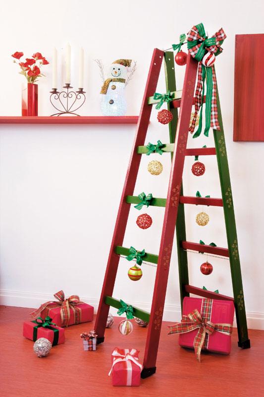 Árvore de Natal renovada