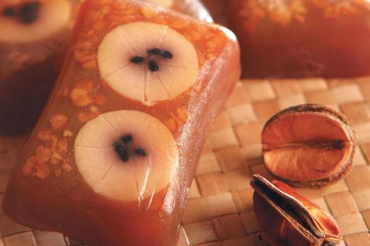 Sabonete glicerinado de banana