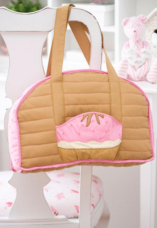 Bolsa de bebê de patchwork