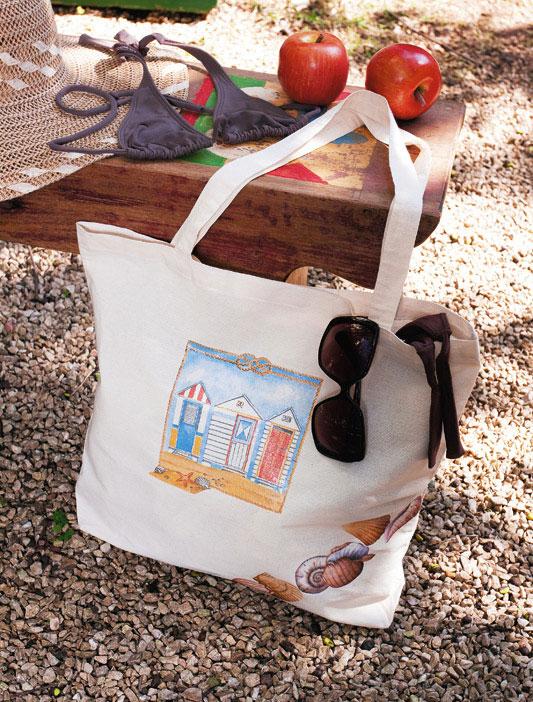 Bolsa de praia artesanal