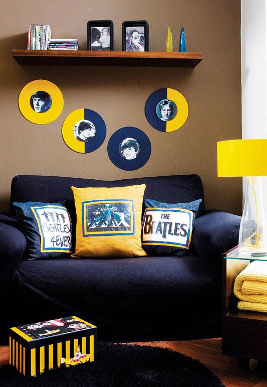 Beatles inspira decoração artesanal