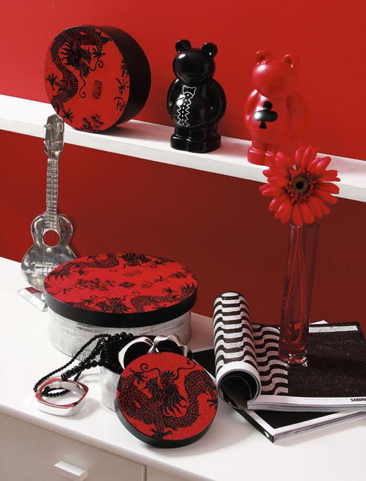 Découpage estilizada decora kit de caixas