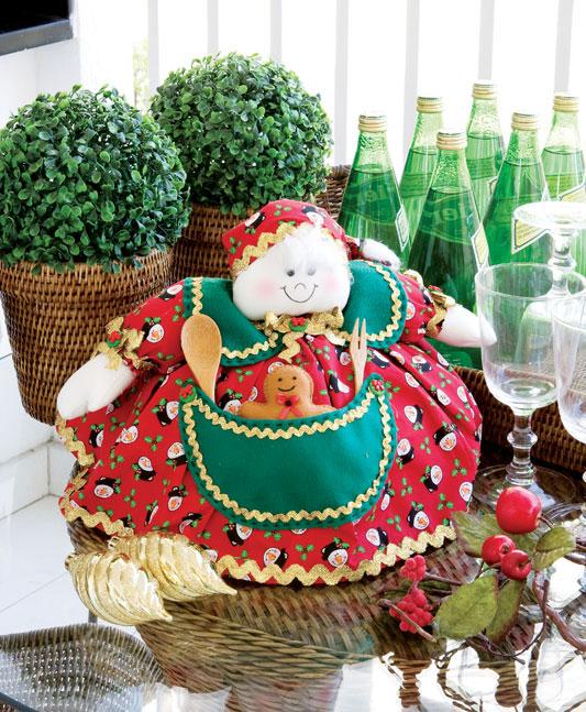 Todo o charme da Vovó Noel