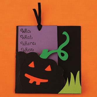 Convite de Halloween