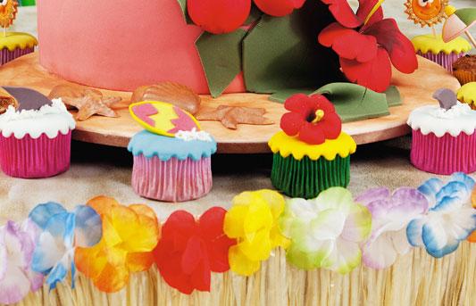 Cupcake de Verão