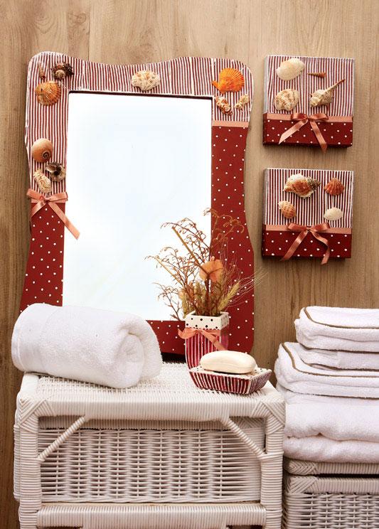 Kit de decoração para o banheiro