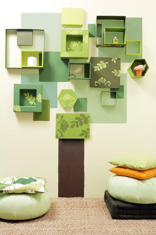 Natureza na parede