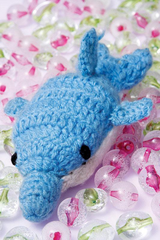 Golfinho de crochê