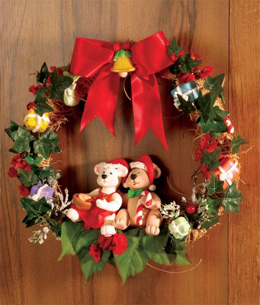 Guirlanda natalina de biscuit