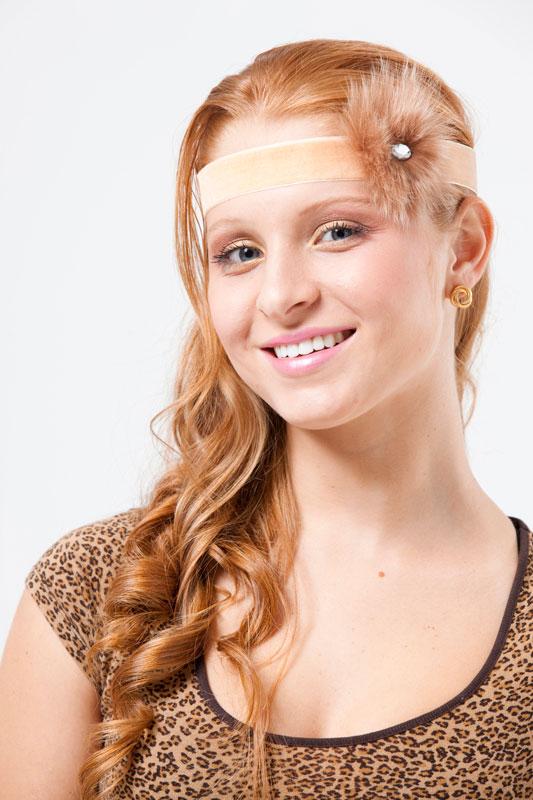 Headband com pompom