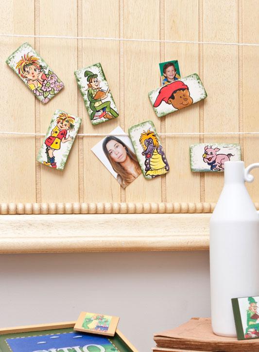 Pintura personaliza ímãs para painel de fotos