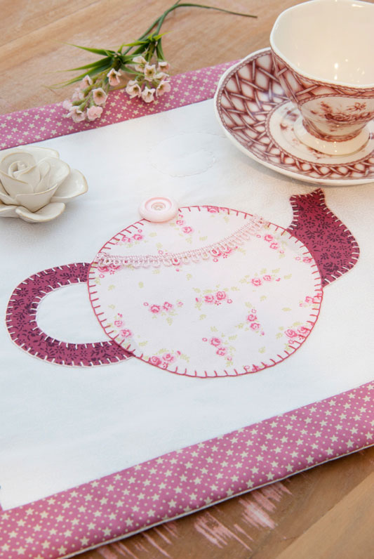 Descanso de mesa de patchwork