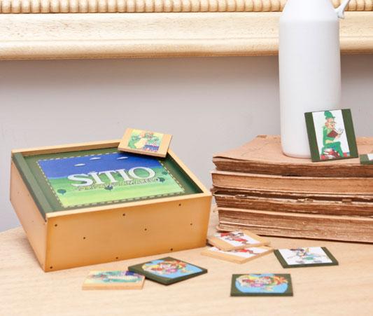 Coisa de criança: jogo da memória artesanal