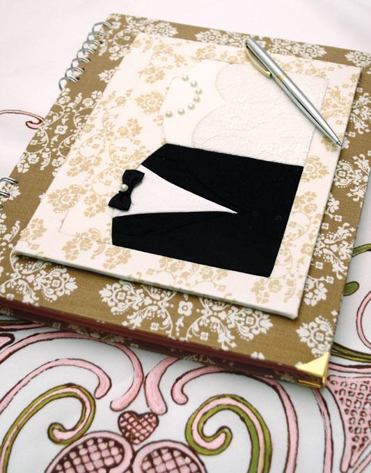 Livro de assinaturas com carton mousse