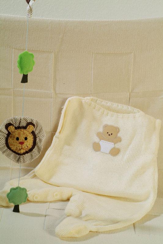 Macacão de tricô