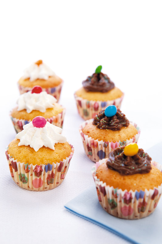 Minicupcake de coco