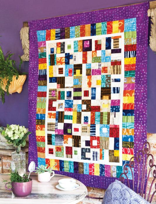 Panô em patchwork
