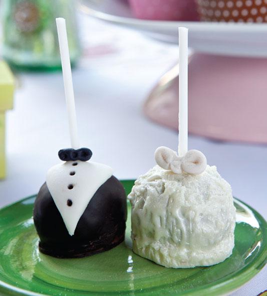 Popcakes para festa de casamento