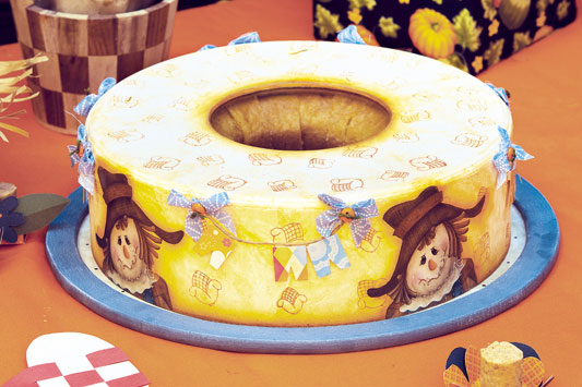 Porta-bolo para Festa Junina