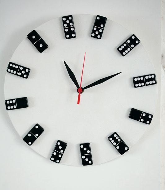 Relógio de dominó