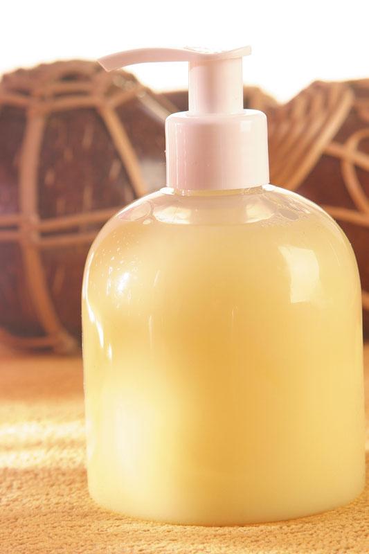 Sabonete líquido antiséptico e cicatrizante