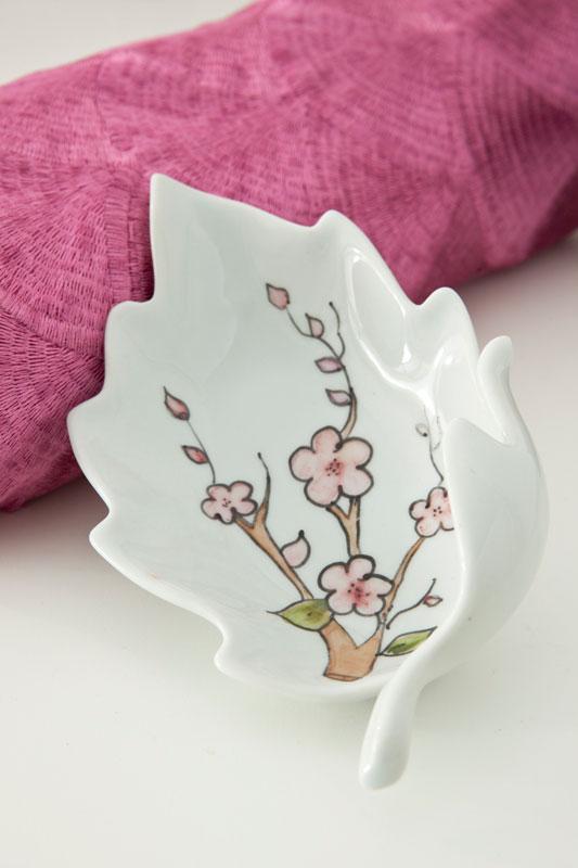 Saboneteira japonesa de porcelana