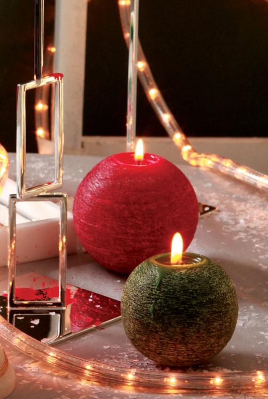 Vela perfumada de Natal
