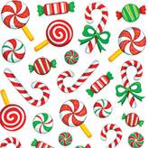 Adesivos natalinos para artesanatos temáticos