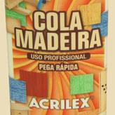 Acrilex lança Cola Madeira