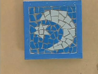 Aprenda a fazer um belo quadro de mosaico