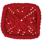 Pontos de patchwork - Quadrado pontilhado