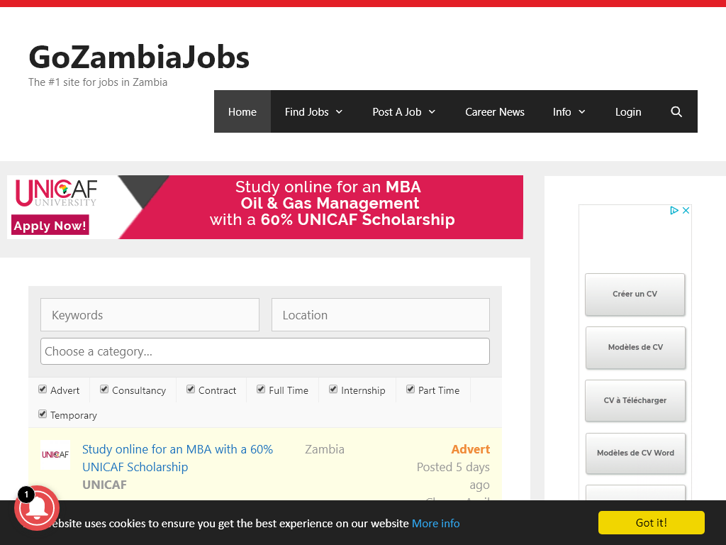 Why Gozambiajobscom Scored 6110 For Its Signup Effectiveness