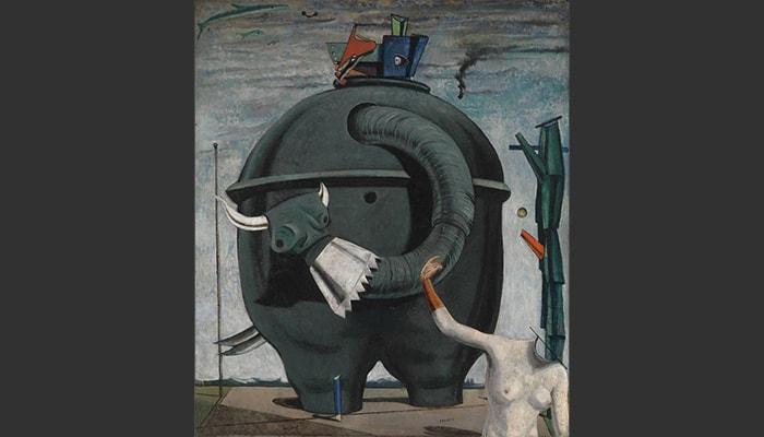 5 pintores surrealistas - 4