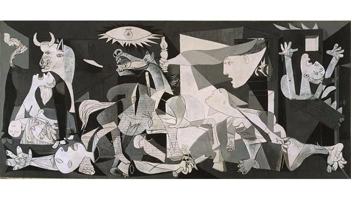 Explicaciones de cuadros famosos: Alegoría del triunfo de Venus y Guernica - 3