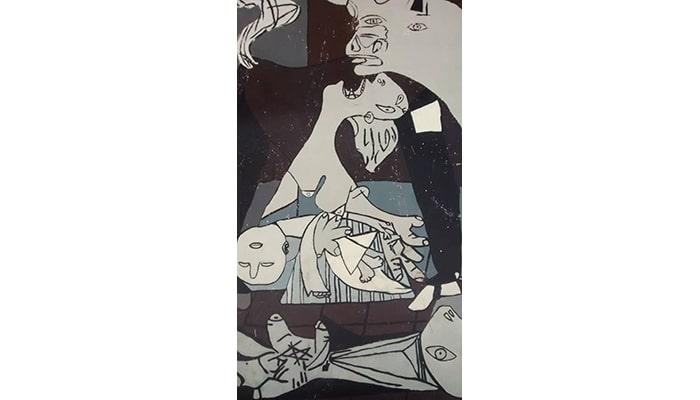 Explicaciones de cuadros famosos: Alegoría del triunfo de Venus y Guernica - 4