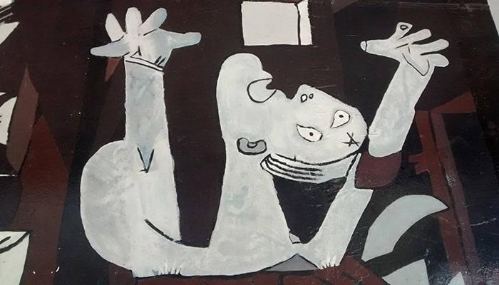 Explicaciones de cuadros famosos: Alegoría del triunfo de Venus y Guernica - 6