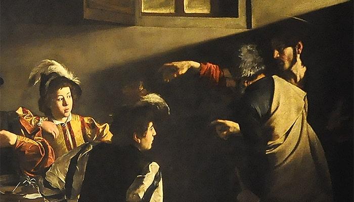 Explicaciones de cuadros famosos: La vocación de San Mateo y El aquelarre - 4
