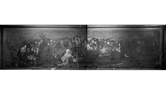 Explicaciones de cuadros famosos: La vocación de San Mateo y El aquelarre - 5