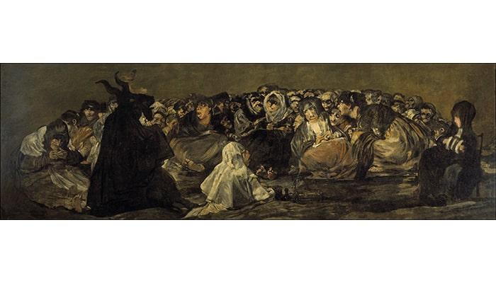 Explicaciones de cuadros famosos: La vocación de San Mateo y El aquelarre - 7