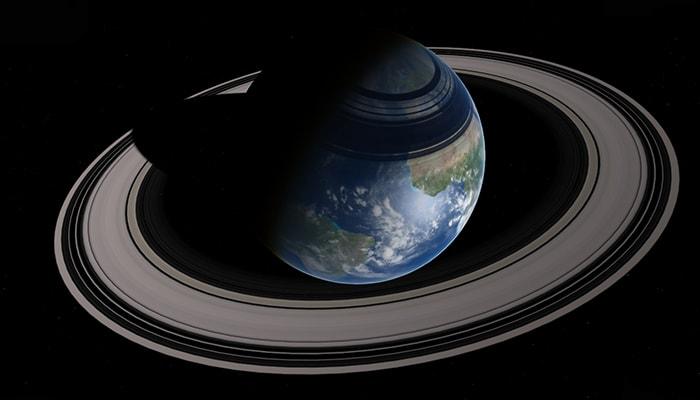 ¿Por qué la Tierra no tiene anillo? - 1
